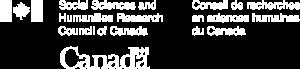 SSHRC logo (white)
